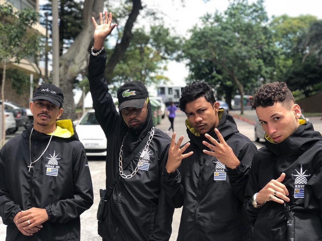 Knust, Cesar Mc, Xamã e Chris e a PineappleStorm fizeram a última Poesia Acústica no Uruguai