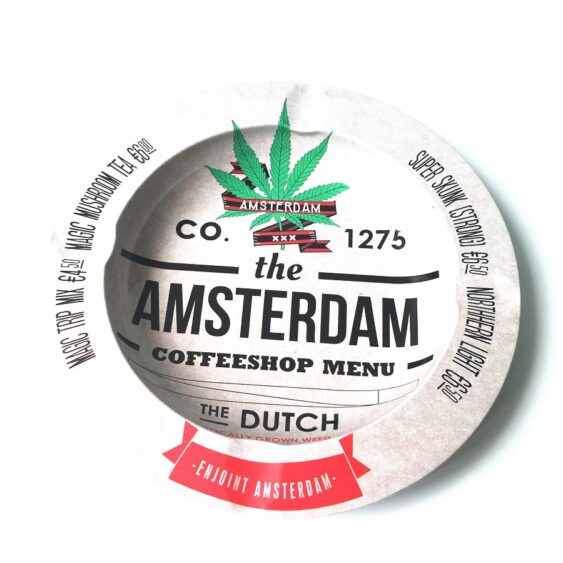 Cinzeiro Amsterdam Branco
