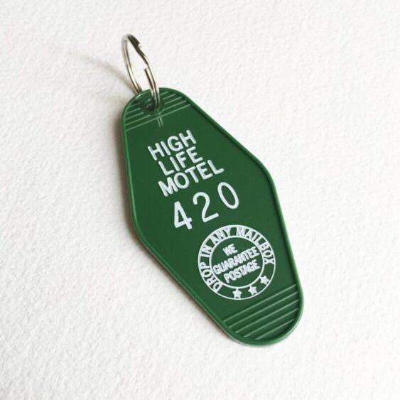 Chaveiro vintage - Hotel 420 (plástico)