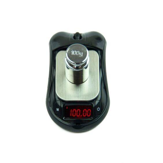 Balança eletrônica digital estilo mouse (0.01g até 100g)