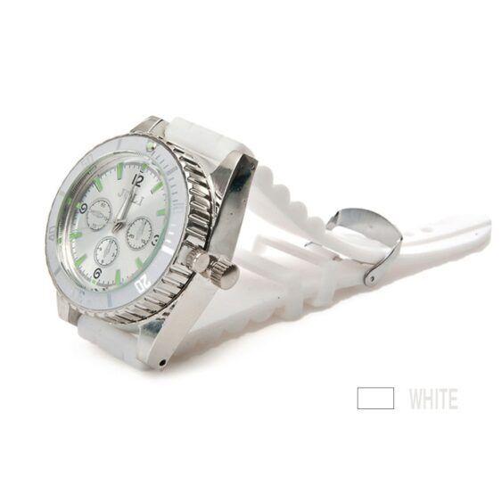 Relógio com triturador escondido